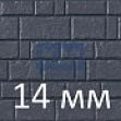 Панели под камень из фиброцемента 14 мм