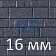 Панели под камень из фиброцемента 16 мм