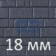 Панели под камень из фиброцемента 18 мм