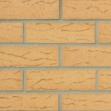 Плитка клинкерная фасадная, 240x37x10мм, Песочный, накат СКАЛА