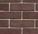 Плитка клинкерная фасадная, 240x71x10мм, Коричневый, гладкий