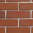 Плитка клинкерная фасадная 283х84х14 мм ласточкин хвост, Бордо