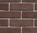 Плитка клинкерная фасад 283х84х10 мм ласточкин хвост, Коричневый