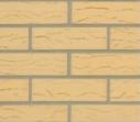 Плитка клинкерная фасадная 283х84х10 мм ласточкин хвост, Ваниль