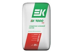 Кладочно-клеевой состав для высокопористых материалов EK 7000 GSB
