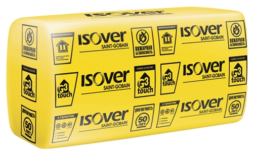 Однослойная теплоизоляция ISOVER ВентФасад Оптима