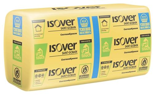 Теплоизоляция с усиленной влагостойкостью ISOVER СкатнаяКровля
